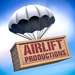 Airlift Productions New Orleans Logo Re-boot 2012 by Ethan Anderson