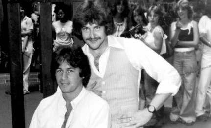 MichealZiants-aka-JohnSaintJohn-Behind-JoeyTravolta-WKBO1977-AirliftProductions
