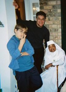 SisterTheclaMichealAndBenZiants2004