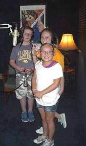 Frere Jean's Kids' Chorus ~ Madisyn, Dayton & Daylan Having a Ball at Airlift Productions NOLA