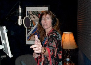 WendiBermanRecordsVoiceOverAtAirliftProductionsNOLA