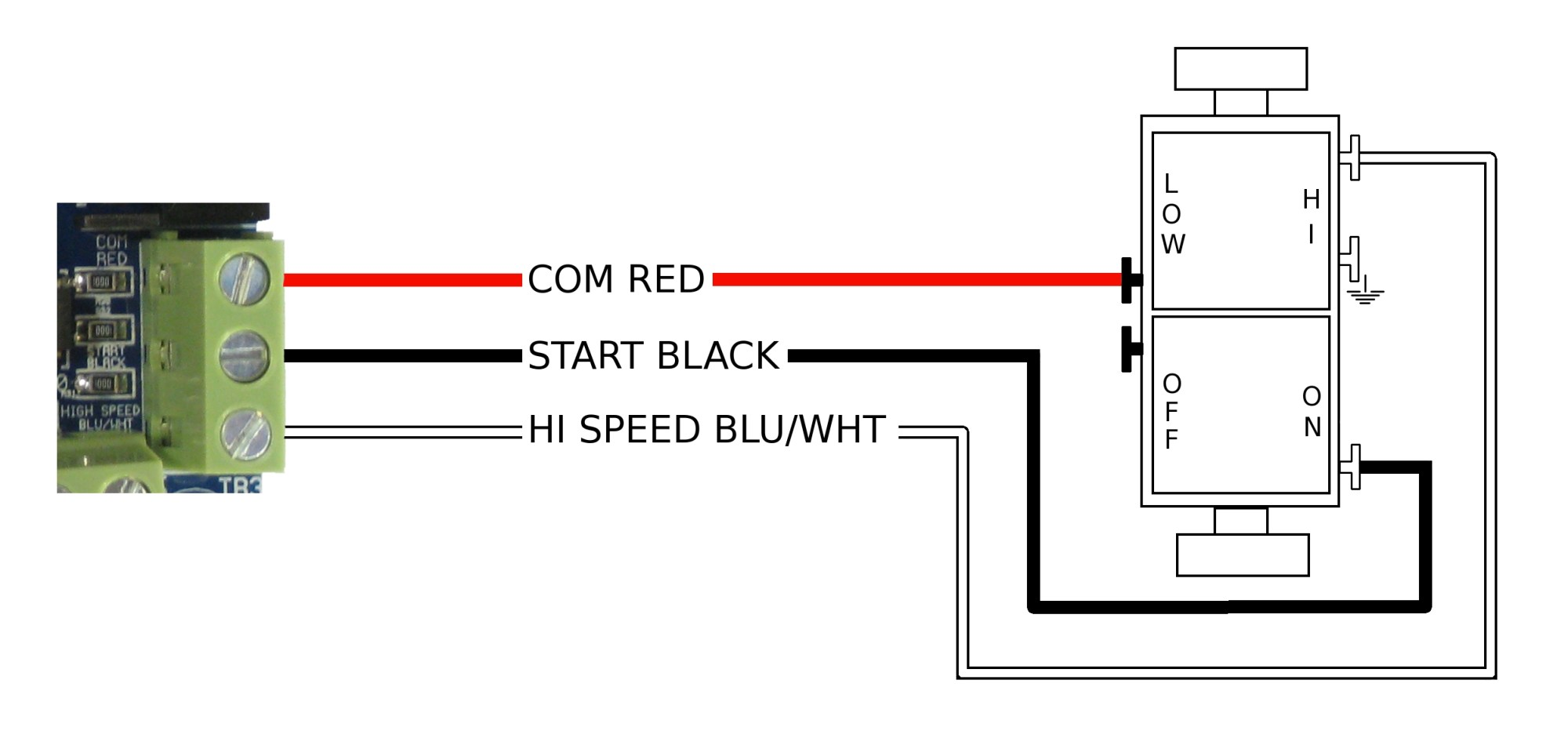 hight resolution of how to wire the wall switch airscape engineer s blog wall outlet wiring wall switch wiring