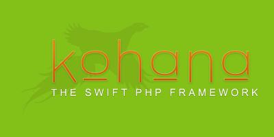 Aloha Goodbye Kohana Framework
