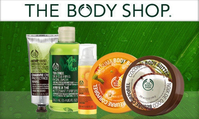The Body Shop Products in Bangladesh