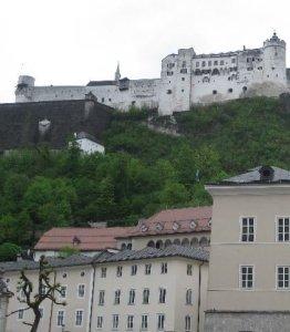 Foto von der Burg in Salzburg