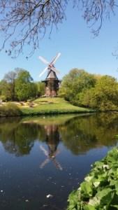 Foto von einer Windmühle