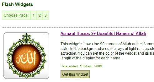 Kunjungi halaman widget islami Alhabib