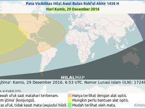 Kapan Rabiul Akhir 1438 Hijriyah Dimulai?