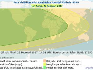 Kapan Bulan Jumadil Akhir 1438 H Dimulai?