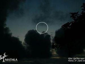 Foto-foto Hilal Sya'ban 1438 H
