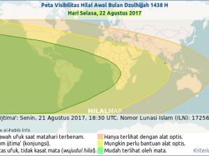 Kapan 1 Dzulhijah 1438 H Dimulai?