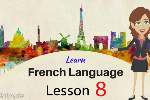 Learn French adjectives with 10 French words in this video.