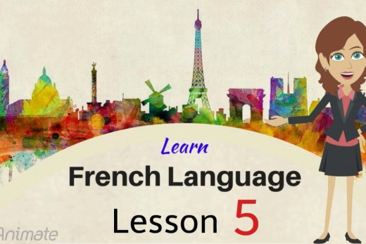 Learn to frame simple sentence in French with online lesson.