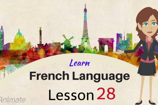 Watch this free video lesson to help you learn French online.