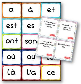 Homonyms in French.