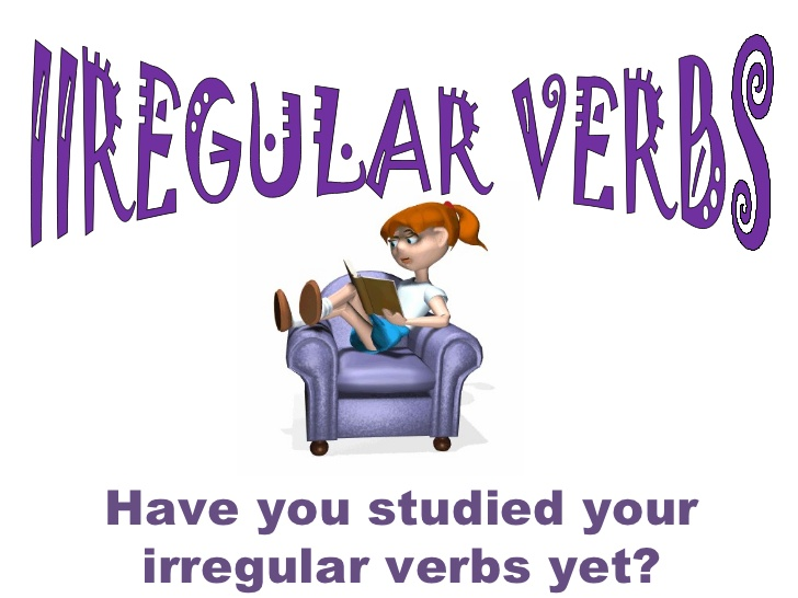 Learn irregular verbs and test how much you know