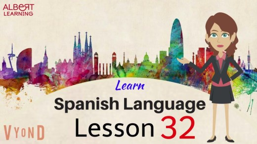 Learn words in spanish by watching a video