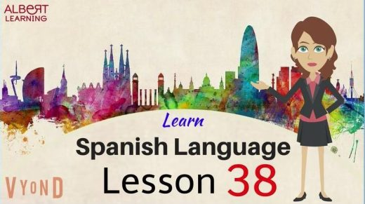Learn the basics of spanish by watching this video