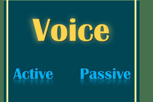 La voix en anglais