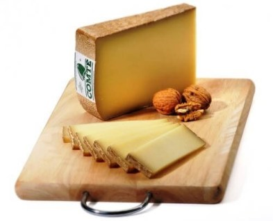 Gruyere cheese.