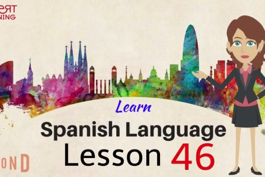 Watch this video to learn spanish vocabulary online.