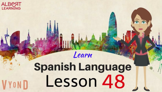 Learn Spanish Vocabulary online by watching this video.