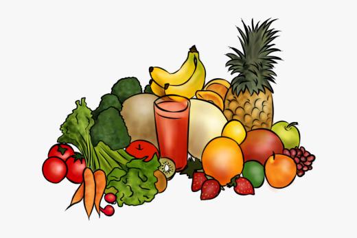fruits et légumes en anglais