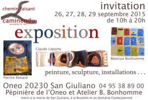 Invitation expo Onéo