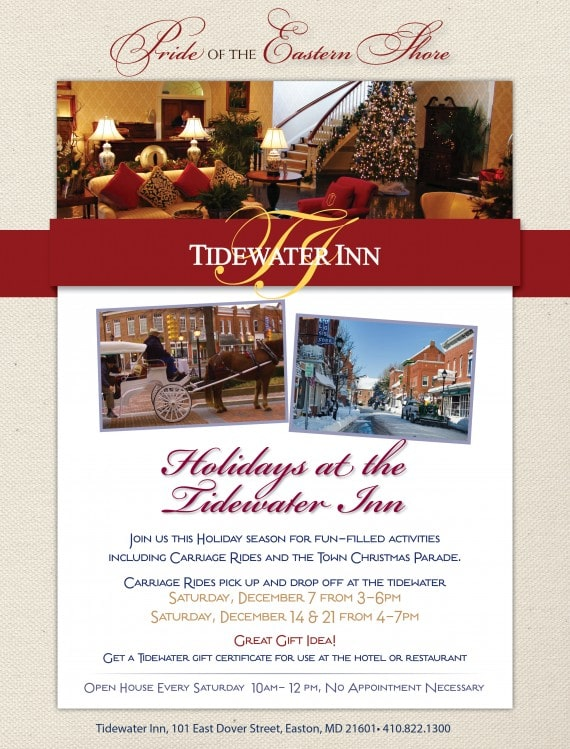 Holidays at the Tidewater Inn