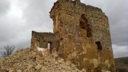 Derrumbe del Castillo
