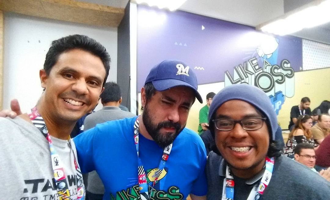 Encontrei com meu primo kanesonalves na Campus Party Braslia Ahhellip