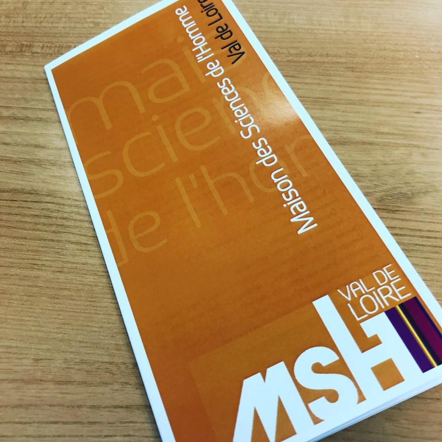 Plaquette de présentation de la MSH