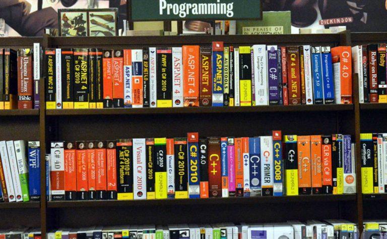 Programming books stock