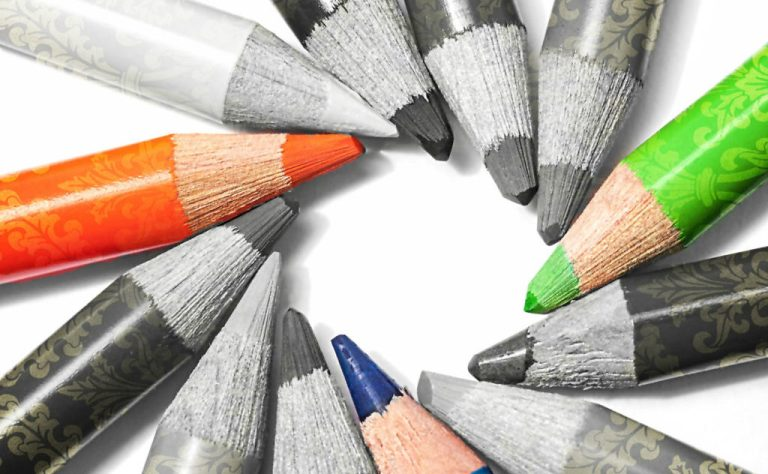 Colorless pencils