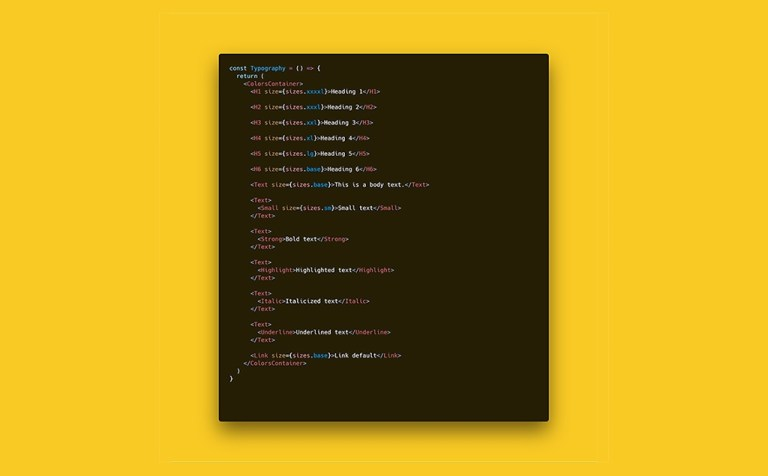 How to Build a Great Style Guide with React & styled-components Pt2