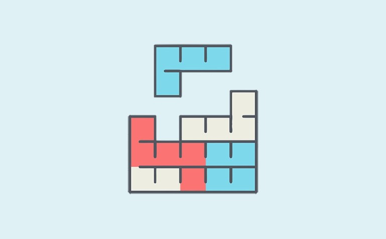 Image featuring Tetris game tiles