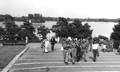 Aspecte din parcul Herastrau.