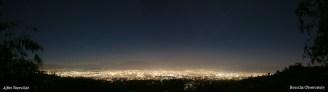 Foto kota Bandung pada malam hari diambil dari kawasan Observatorium Bosscha. foto:alfan nasrulloh