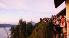 Waiting for sunrise. Bromo Tengger Semeru National Park, Indonesia.