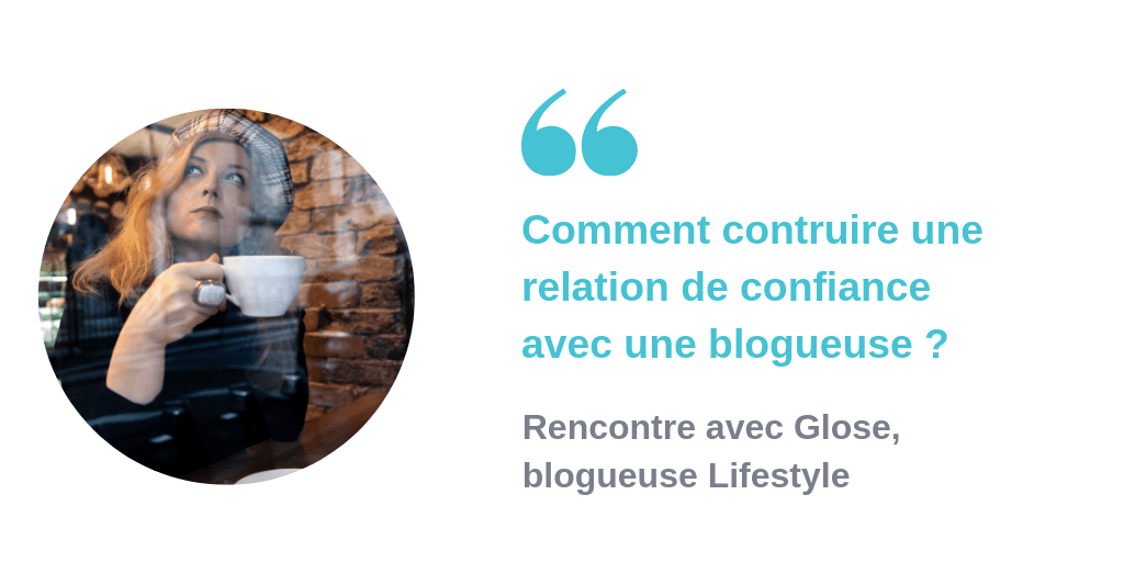Interview blogueuse Glose AlgoLinked