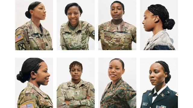 natural hairstyles for gals in the military - alikay blog