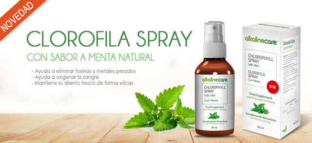 clorofila spray