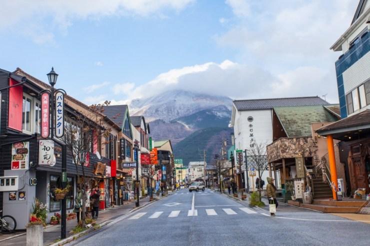 후쿠오카 근교 여행 코스 유후인 거리