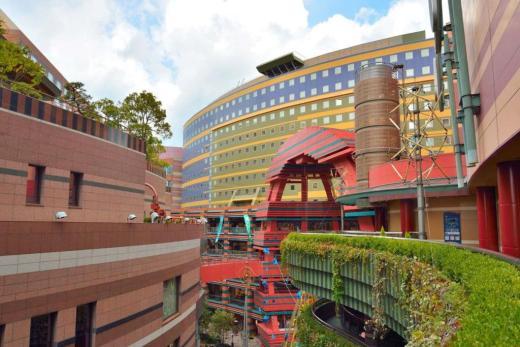 후쿠오카 캐널시티 쇼핑몰 건물