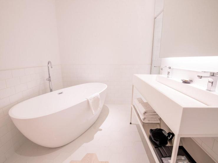 이태원 파티룸 임패리얼 팰리스 부티크 호텔 욕실