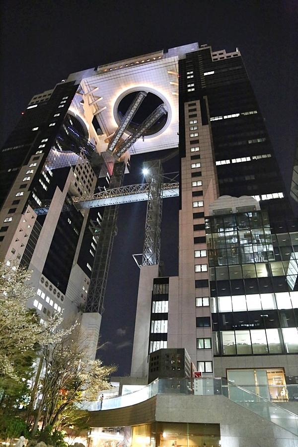 오사카 여행 코스 우메다 스카이빌딩