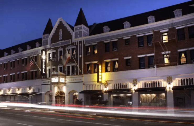 LA 여행 호텔 추천 헐리우드 히스토릭 호텔 건물