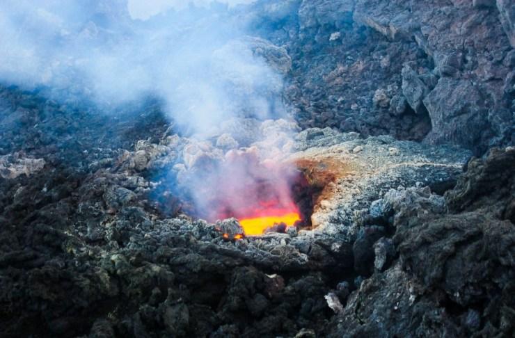 이탈리아 시칠리아 에트나 활화산