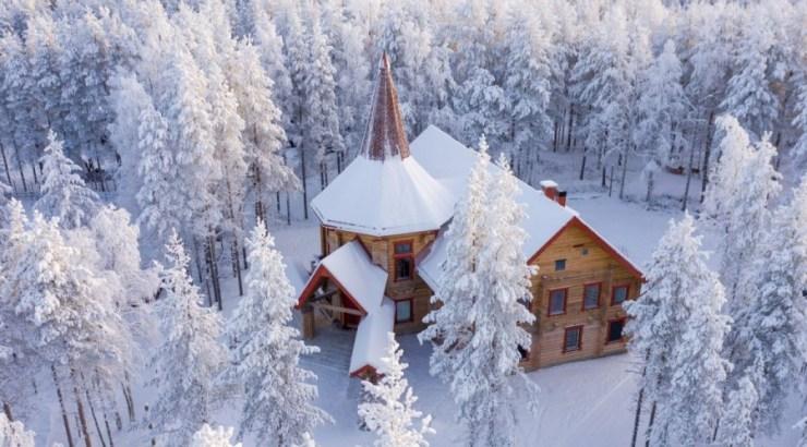 핀란드 로바니에미 산타마을