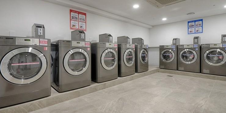 대명리조트 쏠비치 진도 부대 시설 코인 세탁소